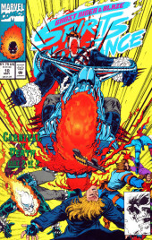 Ghost Rider/Blaze: Spirits of Vengeance (Marvel - 1992) -10- Carnival of death part 2 : a storm of vengeance