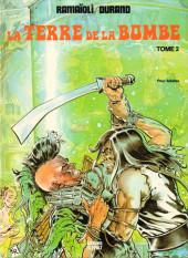 La terre de la bombe -2- Des mutants dans l'étang