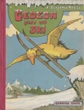 Gédéon -15- Gédéon fait du ski