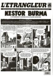 L'Étrangleur - Nestor Burma -3- L'envahissant cadavre de la Plaine Monceau (3)