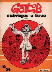 Rubrique-à-Brac (16/22) -1HS6- Tome 1 intégral