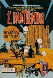 L'inattendu (Arédit) -11- Les méandres du délire