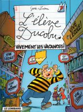 L'Élève Ducobu -7- Vivement les vacances !