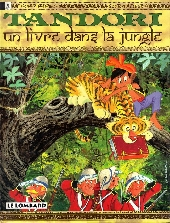 Tandori -3- Un livre dans la jungle