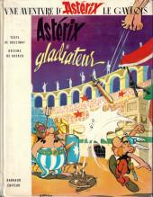 Astérix -4c1972/01- Astérix gladiateur