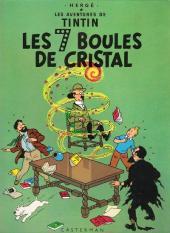 Tintin (Historique) -13C1- Les 7 boules de cristal