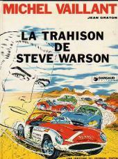 Michel Vaillant -6b1970'- La trahison de Steve Warson