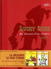 Lucky Luke - Les Dessous d'une création (Atlas) -1a- La diligence / Le pied tendre