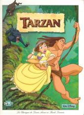 Les classiques du dessin animé en bande dessinée -30- Tarzan