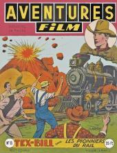Aventures Film (1re série - Artima) -8- Les pionniers du rail