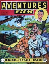 Aventures Film (1re série - Artima) -13- Escale à dakar