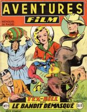 Aventures Film (1re série - Artima) -24- Le bandit démasqué