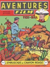 Aventures Film (1re série - Artima) -42- L'embuscade du canyon rouge