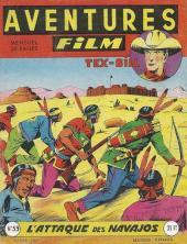 Aventures Film (1re série - Artima) -59- L'attaque des navajos
