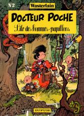 Docteur Poche -2- L'île des hommes-papillons