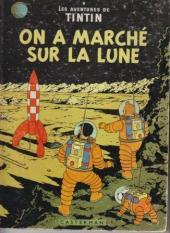 Tintin (Historique) -17B22- On a marché sur la lune