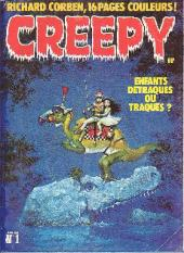 Creepy (Triton) -1- Enfants détraqués ou traqués ?