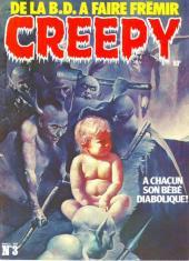 Creepy (Triton) -3- A chacun son bébé diabolique !