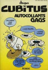 Cubitus - Autocollants gags