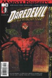 Daredevil (1998) -20- Playing to the camera part 1 : redsuit, lawsuit