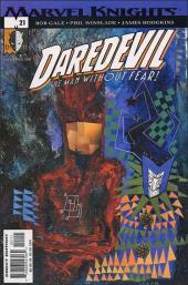 Daredevil (1998) -21- Playing to the camera part 2 : a fellow of infinite jest