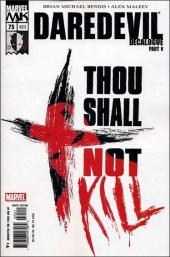 Daredevil (1998) -75- Decalogue part 5 : thou shall not kill