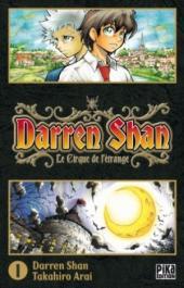 Darren Shan -1- Le Cirque de l'étrange