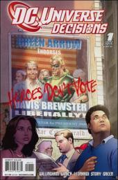 DC Universe: Decisions (2008) -1- The green endorsement
