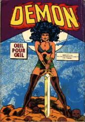 Démon (1re Série - Arédit - Comics Pocket) -10- Œil pour Œil