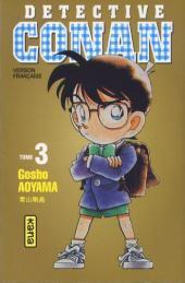 Détective Conan -3a- Tome 3