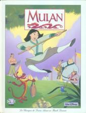 Les classiques du dessin animé en bande dessinée -27- Mulan