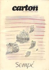 (DOC) Carton - Les cahiers du dessin d'humour -1- Sempé