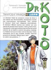 Dr Kotô -10- Tome 10