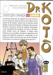 Dr Kotô -12- Tome 12