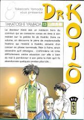 Dr Kotô -13- Tome 13