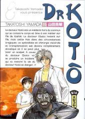Dr Kotô -15- Tome 15