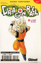 Dragon Ball -70- La mort de Cell