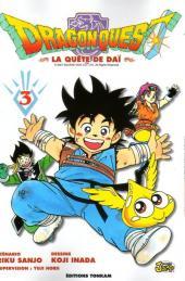 Dragon Quest - La quête de Daï -3- Rassemblez-vous, disciples d'avan!!