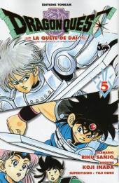Dragon Quest - La quête de Daï -5- L'épée foudroyante de la justice !!