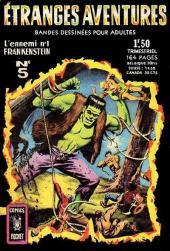 Étranges aventures (1re série - Arédit) -5- L'ennemi n°1 Frankenstein