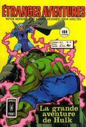 Étranges aventures (1re série - Arédit) -39- La grande aventure de Hulk