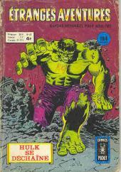 Étranges aventures (1re série - Arédit) -43- Hulk se déchaîne