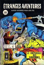 Étranges aventures (1re série - Arédit) -49- Le crépuscule des surhommes