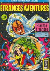 Étranges aventures (1re série - Arédit) -51- Planète à vendre