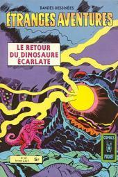 Étranges aventures (1re série - Arédit) -67- Le Retour du Dinosaure écarlate