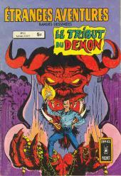 Étranges aventures (1re série - Arédit) -71- Le tribut du démon
