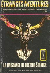 Étranges aventures (1re série - Arédit) -22- La Naissance de Docteur Strange