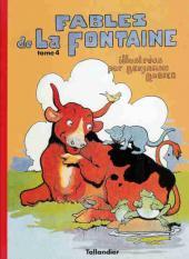 Les fables de La Fontaine (Rabier) -4- Tome 4