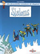 Lapinot (Les formidables aventures de) -2Pub- Slaloms