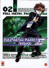 Full Metal Panic! Sigma -2- Tome 2